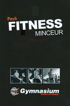 Affiche Pack fitness minceur